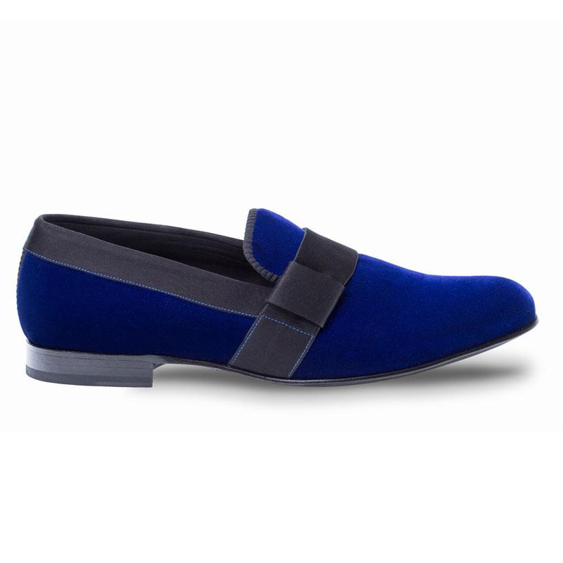 Mezlan Palance Loafers Blue Image