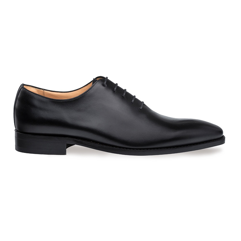 Mezlan Pamplona Whole Cut Shoes Black Image