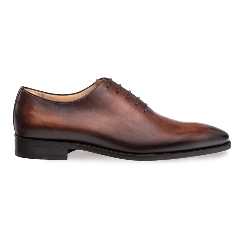 Mezlan Pamplona Whole Cut Shoes Cognac Image