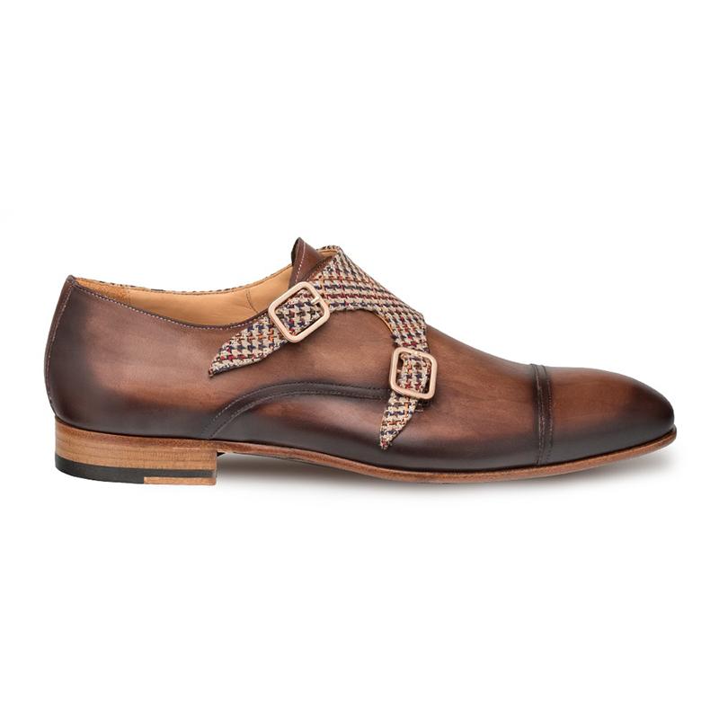 Mezlan Pandora Cap Toe Shoes Taupe/Brown Image