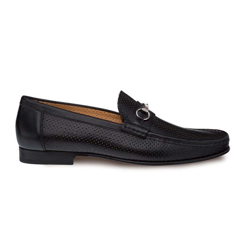Mezlan Pani Calfskin Shoes Black Image