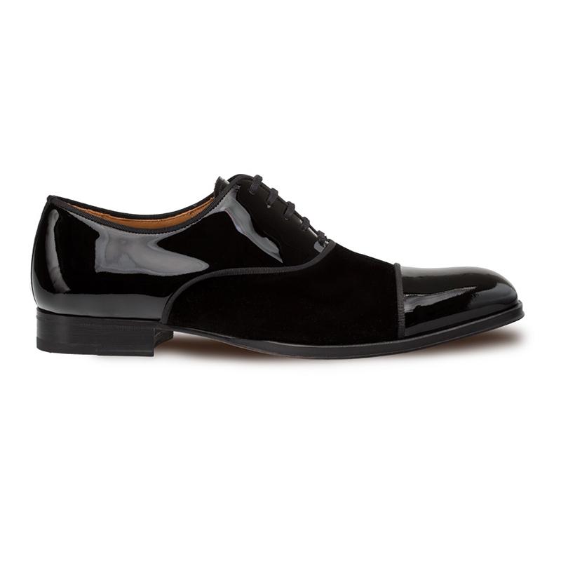 Mezlan Pio Cap Toe Shoes Black Image