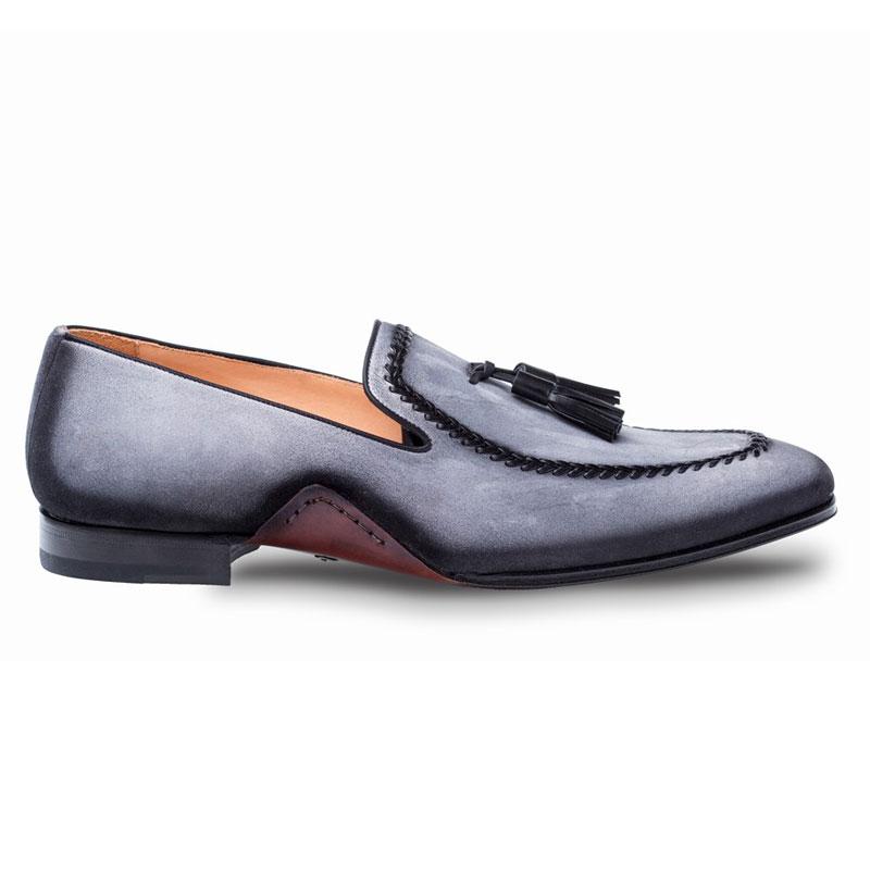 Mezlan Plazza Loafer Shoes Grey Image
