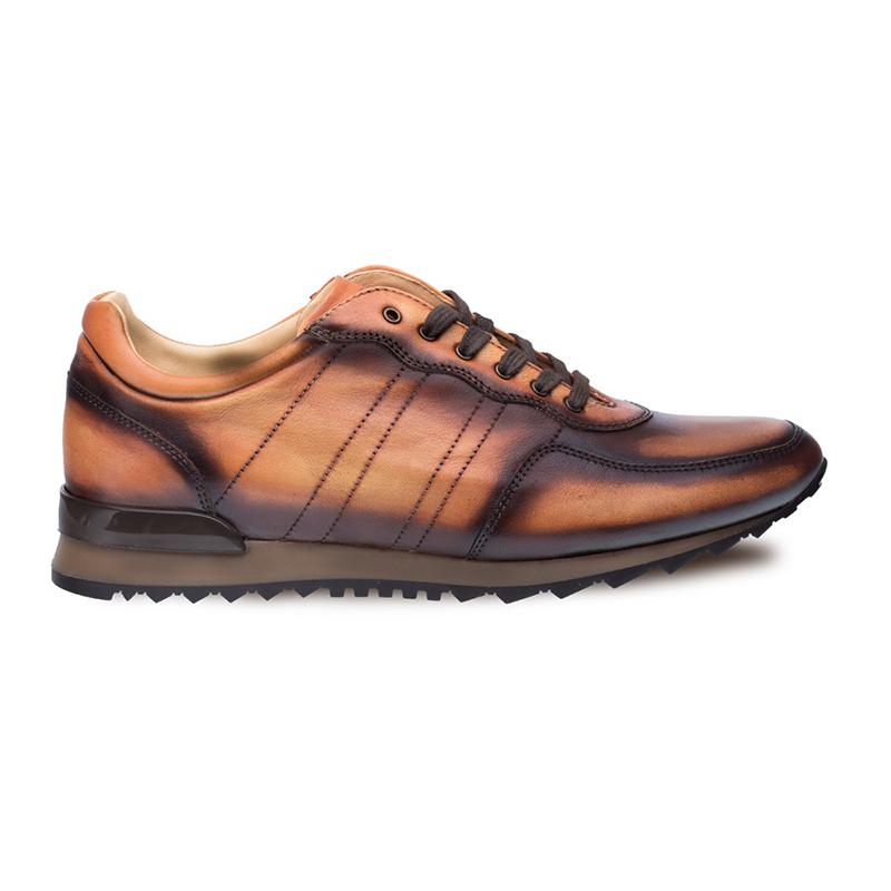 Mezlan Rais Hi Fashion Sneakers Whiskey Image