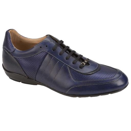 Mezlan Redon Fashion Sneakers Blue Image