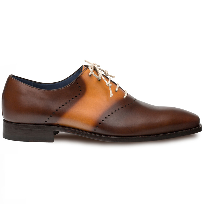 Mezlan Renato Calfskin Shoes Brown Multi Image