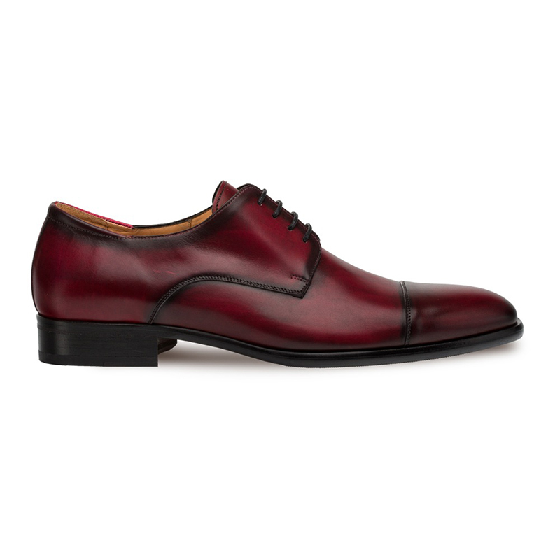 Mezlan Republic Cap Toe Blucher Burgundy Image
