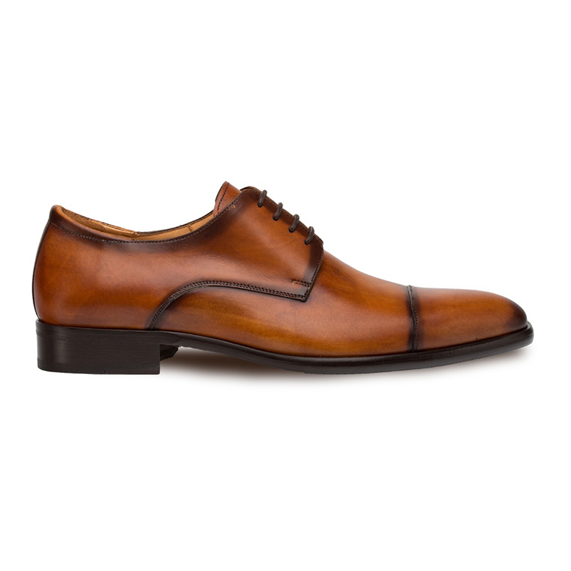Mezlan Republic Cap Toe Blucher Tan Image