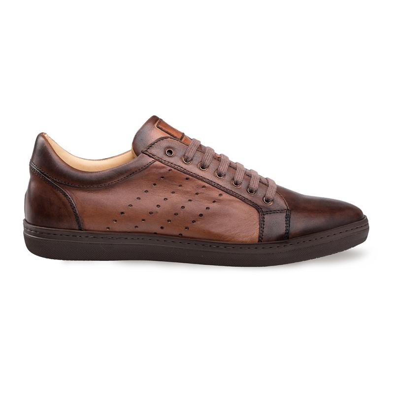 Mezlan Rimini Lace-Up Sneaker Cognac Image