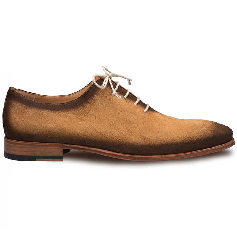 Mezlan Rossini Suede Oxfords Honey Image