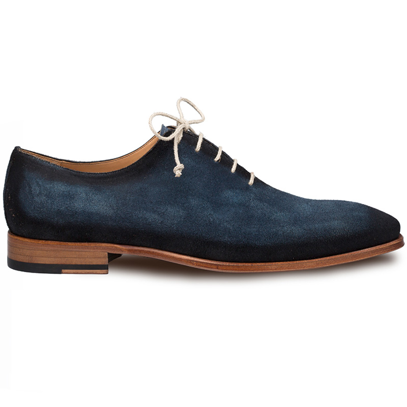 Mezlan Rossini Suede Shoes Jeans Image