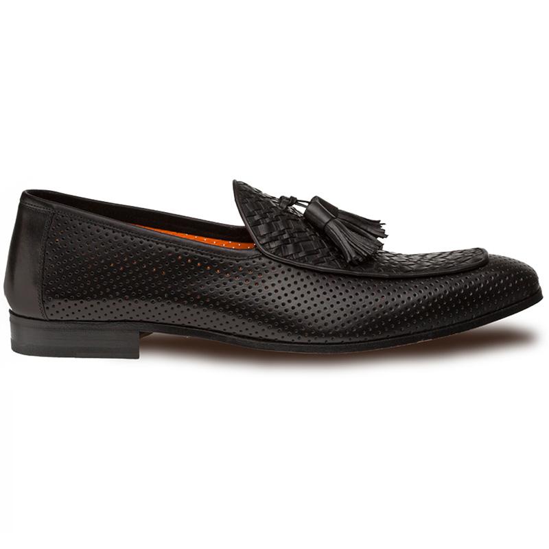 Mezlan Rubini Tassel Loafers Black Image