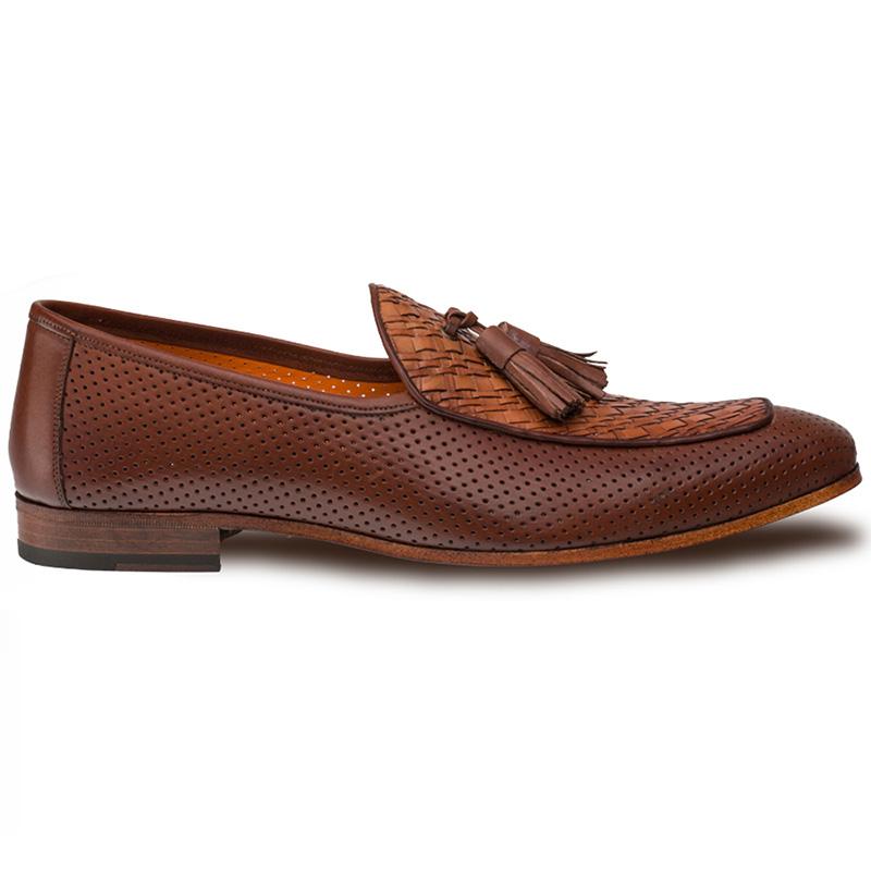 Mezlan Rubini Tassel Loafers Cognac Image