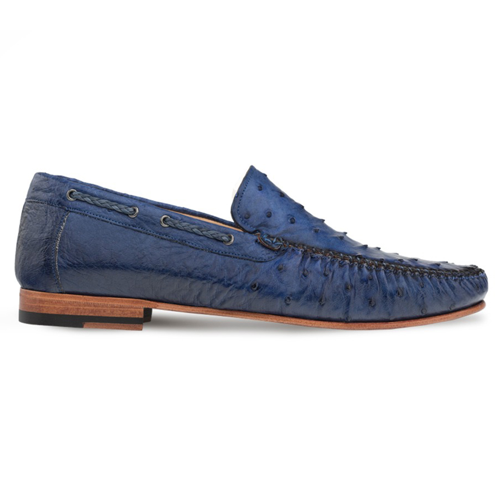 Mezlan RX612 Ostrich Loafers Jeans Image