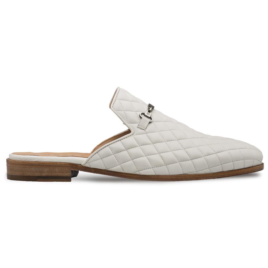 Mezlan S111 Nappa Leather Sandals White Image