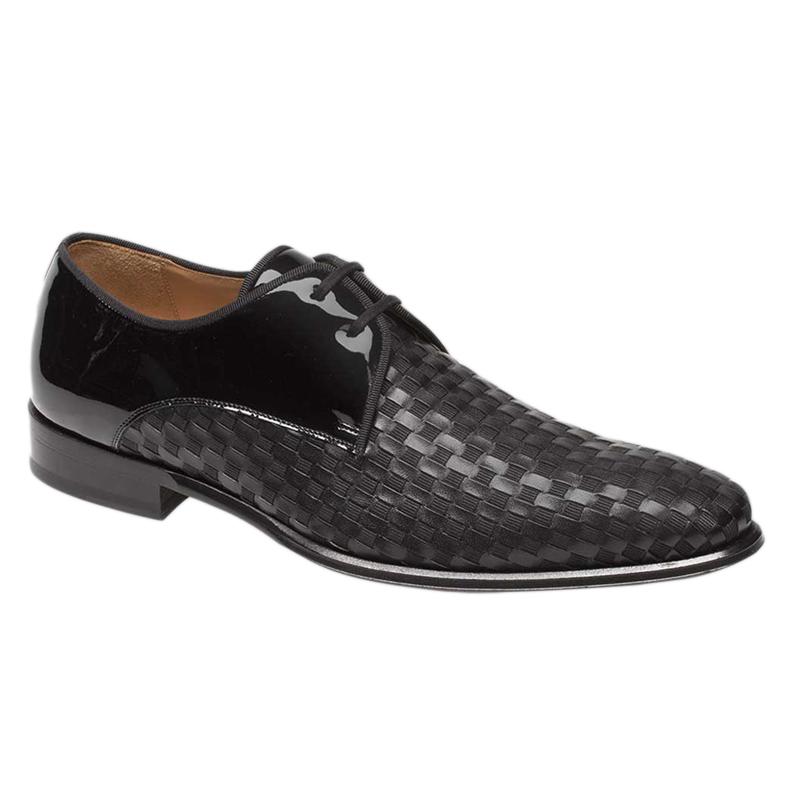 Mezlan Sexto Woven Shoes Black Image