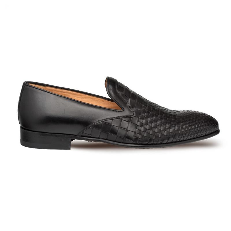 Mezlan Sirocco Calfskin Shoes Black Image