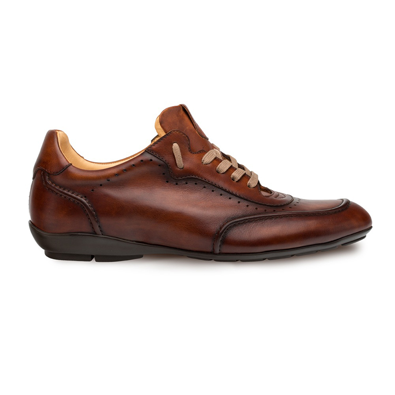 Mezlan Tivoli Lace Up Shoes Cognac Image