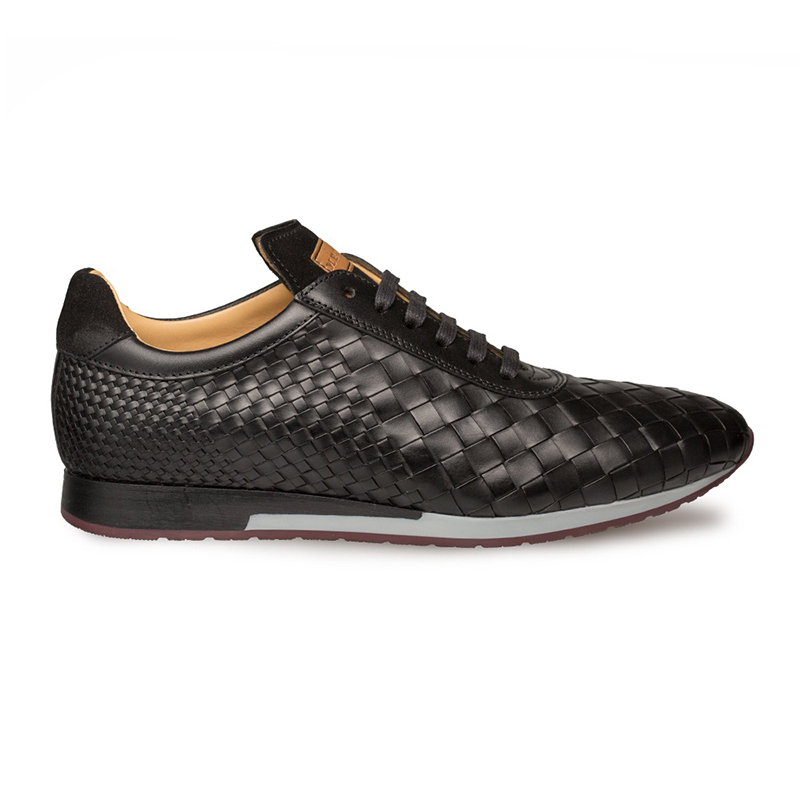 Mezlan Toronado Woven Sneaker Black Image