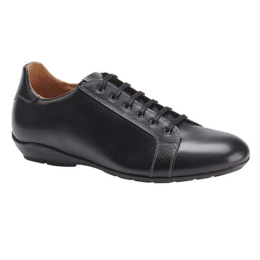 Mezlan Ubrique Calfskin Sneakers Black Image