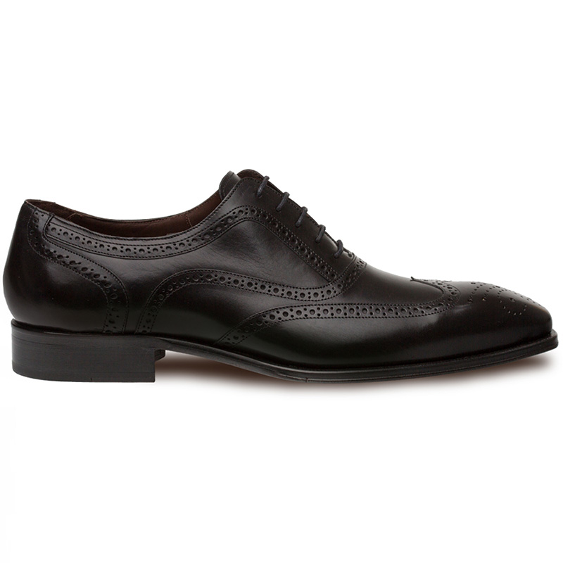 Mezlan Ugalde Calfskin Shoes Black Image