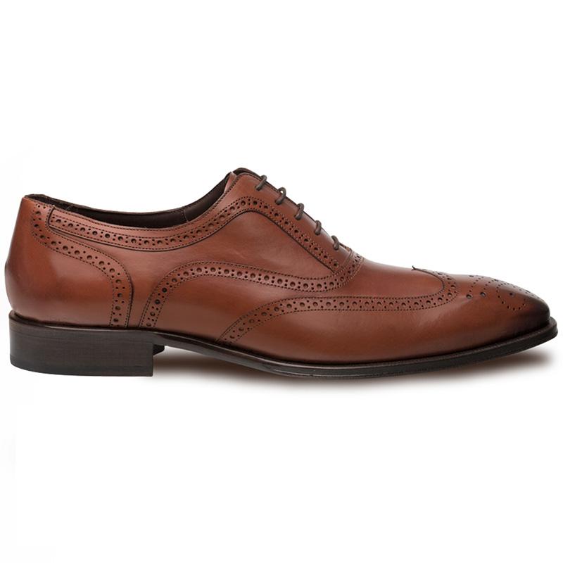 Mezlan Ugalde Calfskin Shoes Cognac Image