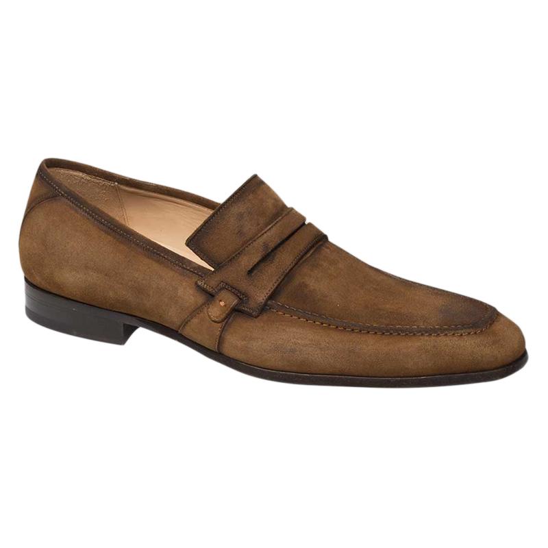 Mezlan Ulpio Loafer Shoes Cognac Image