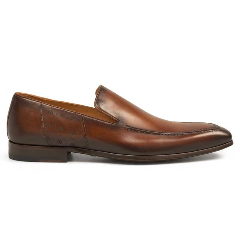 Mezlan Vicens Calfskin Loafers Cognac Image
