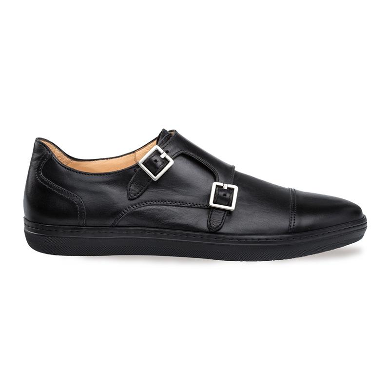 Mezlan Vicenza Double Monk Strap Sneaker Black Image