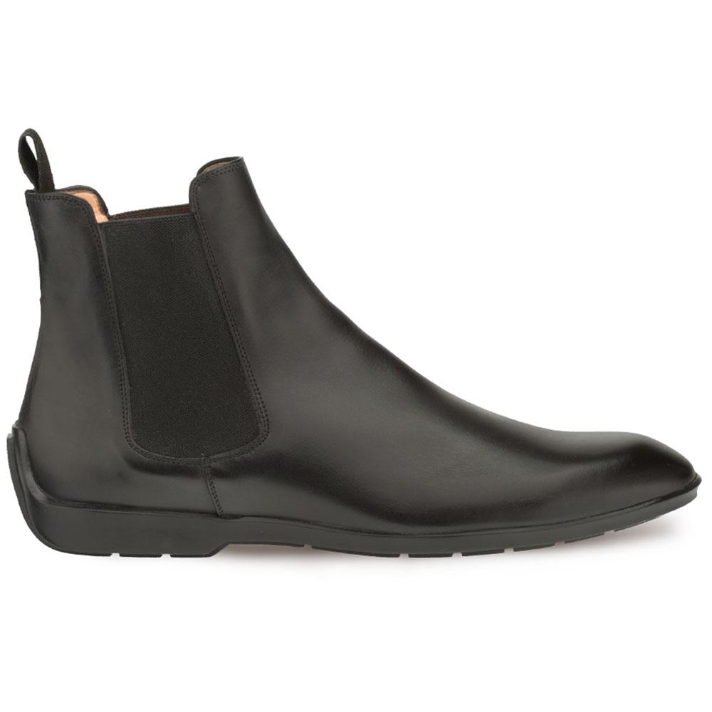 Mezlan Warden Calfskin Chelsea Boots Black Image