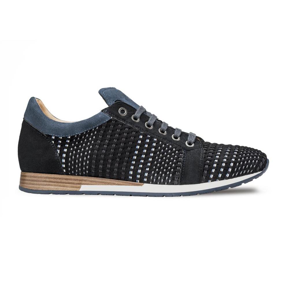 Mezlan Woven Sneakers Blue Multi Image