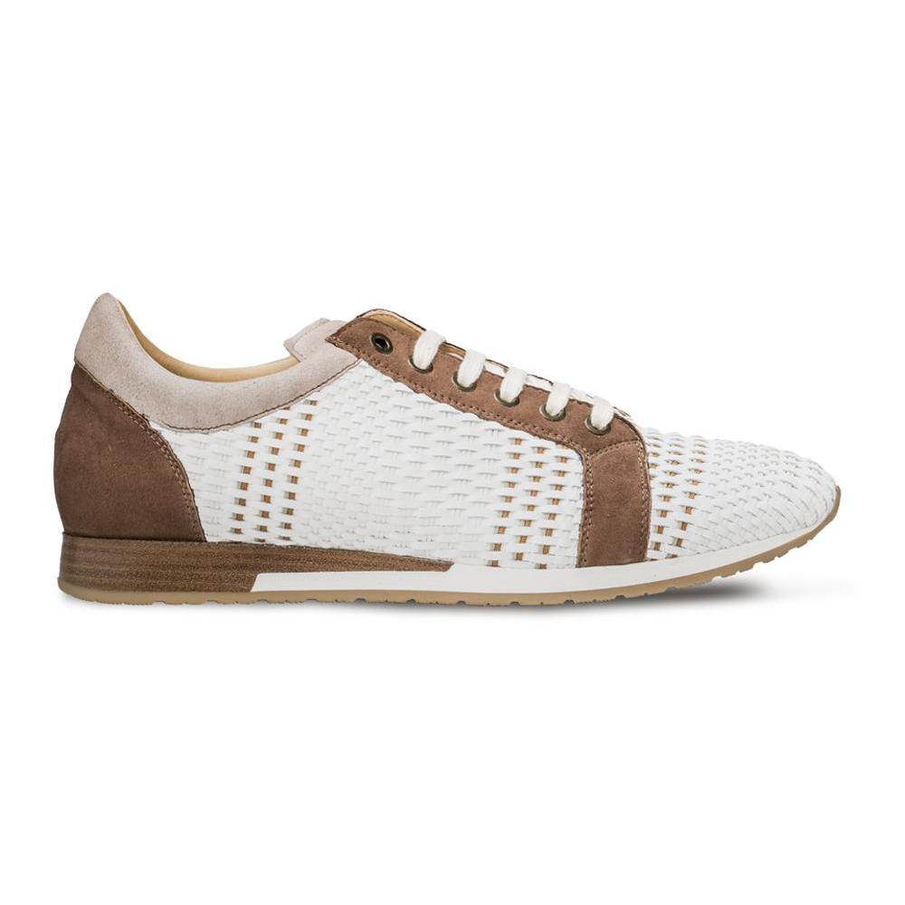 Mezlan Woven Sneakers White Multi Image