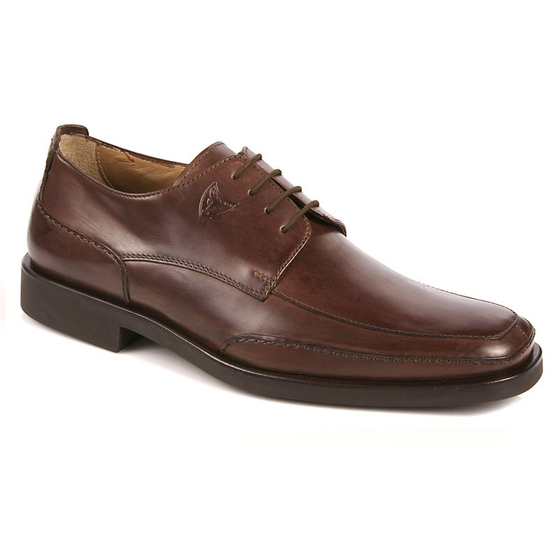 Michael Toschi Albino Dress Shoes Chocolate Image