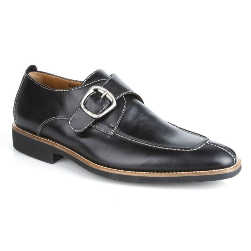 Michael Toschi Berta Monk Strap Shoes Black Image