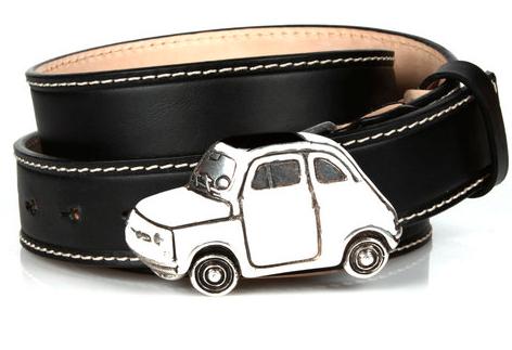 Michael Toschi Cinquecento Belt Black/White Image