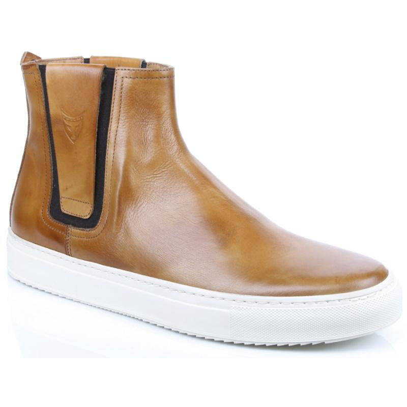 Michael Toschi Gracia Sneakers Tan Image