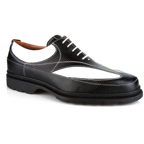 Michael Toschi GX Golf Shoes Black / White Image