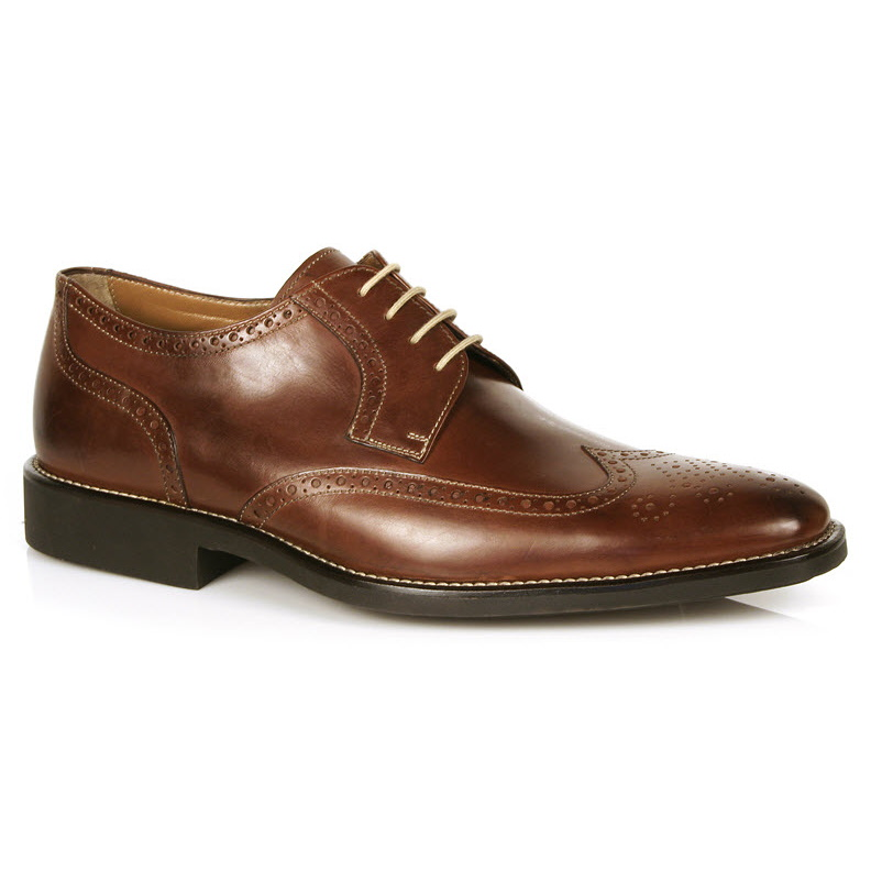Michael Toschi Hessling Wing Tip Shoes Brown Image