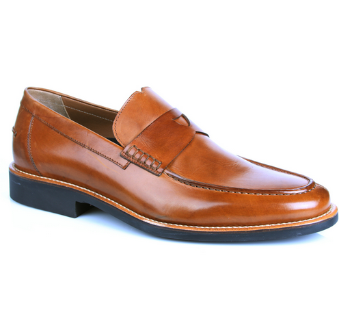 Michael Toschi Marco Penny Loafers Brown Image