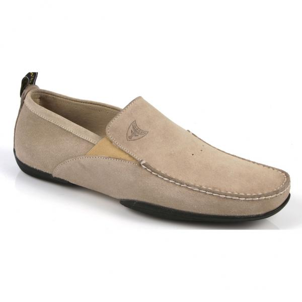 Michael Toschi Onda Driving Shoes Granite Suede Image