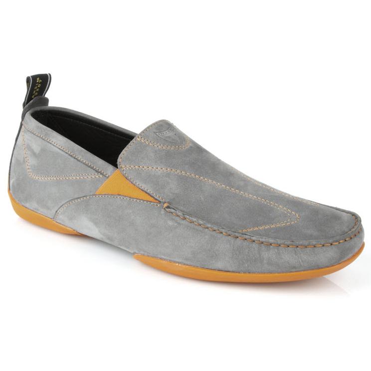Michael Toschi Onda Sport Driving Shoes Gray / Orange Image