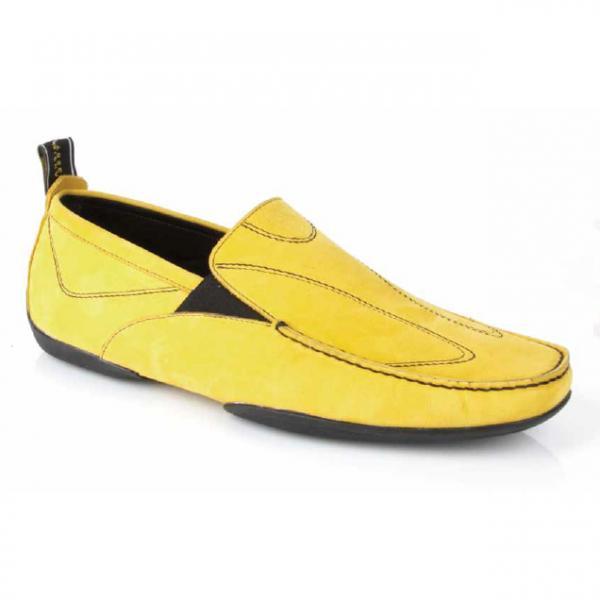Michael Toschi Onda Sport Driving Shoes Yellow Image