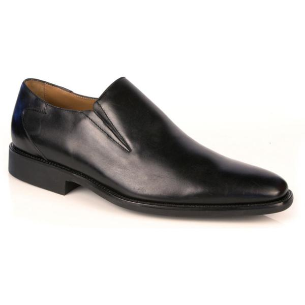 Michael Toschi Alessio Slip On Loafers Black Image