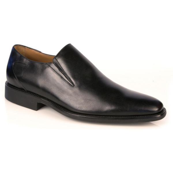 Michael Toschi Alessio Slip On Loafers Black Image