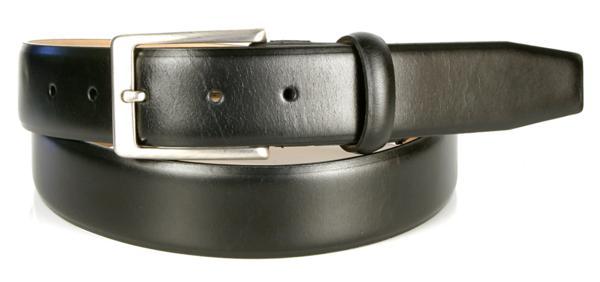 Michael Toschi Balboa Calfskin Belt Black Image