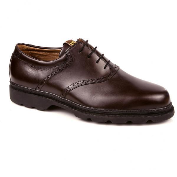 Michael Toschi G1 Saddle Golf Shoes Chocolate Image