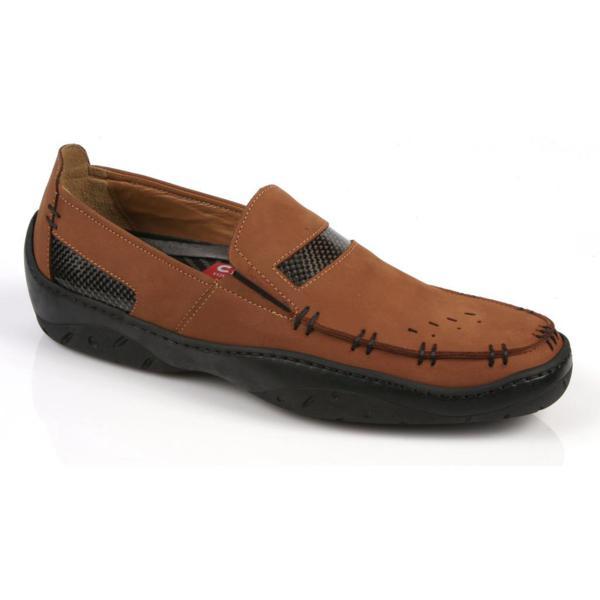 Michael Toschi Mach Driving Shoes Cinnamon Nubuck Image