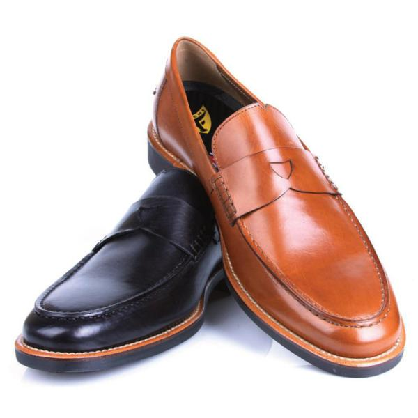 Michael Toschi Marco Penny Loafers Black ...
