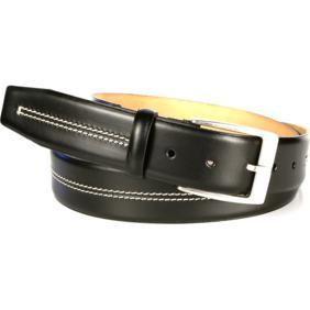Michael Toschi Mirco Calfskin Belt Black Gent Image