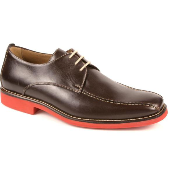 Michael Toschi Mirco Bicycle Toe Shoes Chocolate / Red Sole Image